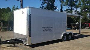Sale Concession Trailer 8 5 Wide By 24 Long Tandem Axle 5 Year Warranty