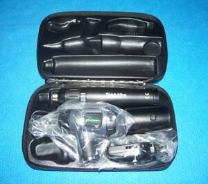Welch Allyn 97200 msl Lithium Ion Led Otoscope Ophthalmoscope Diagnostic Set