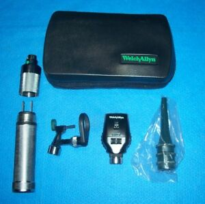 Welch Allyn Veterinary Diagnostic Set 21760 Otoscope 11710 Ophthalm