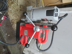 Milwaukee 4202 Electromagnetic Variable Still Press 4262 1 Drill Motor Great