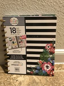 Create 365 Planner Happy Calendar 2018 2019 Academic Fashion Weekly Floral Large