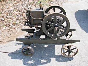 Mccormick deering Ih Model M Hit And Miss Engine 1 1 2 Hp Turns Over