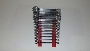 Snap On Short Metric Combination Wrench Set 14 Pc 6mm 19mm Oexsm714 12 Point