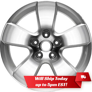 New Set Of 4 20 Polished Silver Wheels Rims For 2002 2018 Dodge Ram 1500 2363