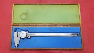 Excellent Mitutoyo 12 Inch Dial Caliper 505 645 50 machinist Tools