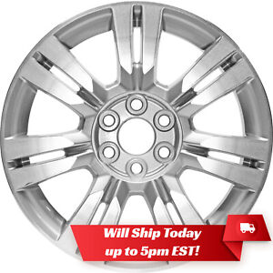 New 18 Machined Silver Alloy Wheel Rim For 2010 2016 Cadillac Srx