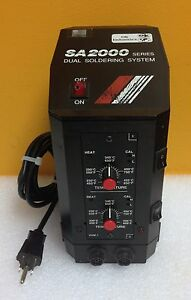 Ok Industries Sa 2001 450 To 850 F Sa 2000 Series Dual Soldering System Tested