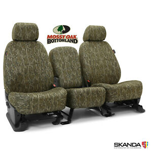 Coverking Skanda Mossy Oak Bottomland Camo Seat Covers For Nissan Frontier