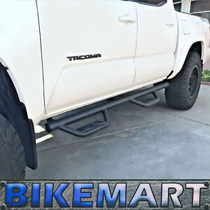Nurf Bars For 05 20 Toyota Tacoma Crew Cab Hoop Side Steps Running Board