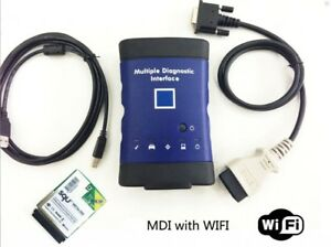 2018v Gm Mdi Multiple Diagnostic Car Interface Tool Wifi Scanner Ecu Obd2 Opel