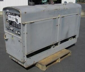 The Rare Sam 400 Perkins Diesel Lincoln Pipeline Welder Much Bigger Than Sa 200
