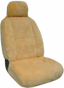 Eurow Sheepskin Seat Cover New Xl Design Premium Pelt Champagne