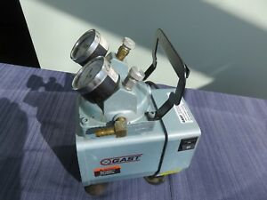 Gast Vacuum Pressure Pump Gast Doa p704 aa Works Great