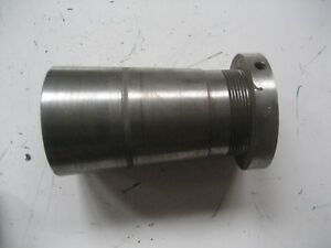 Hendey Lathe Cone Head 12 And 14 Lathe Spindle Sleeve