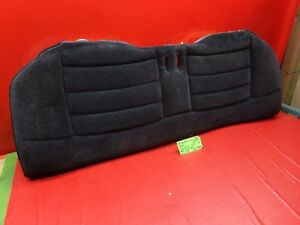 Mustang Coupe Lx Rear Back Seat Lower Bottom Cushion Grey Gray Cloth Charcoal