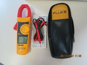 Fluke 336 True Rms Clamp Meter In Mint Condition 336