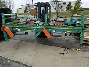 2 powered Roller Pallet Conveyor 46 Inside W 11 6 230 460v Dual Zone