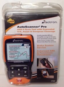Actron Cp9695 Autoscanner Pro Obd Ii Scan Tool brand New