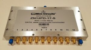 New Mini circuits Zn12pd 17 12 way 0 Degree Power Splitter combiner