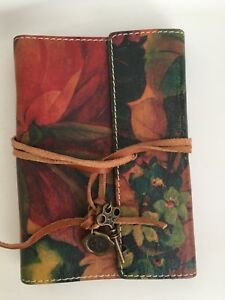 Patricia Nash Agenda Journal Personal Compact Size Leather