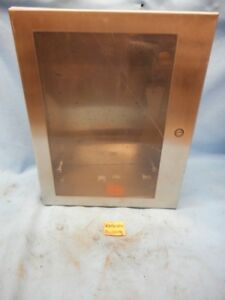 Hoffman Enclosure C sd20168wss Csd20168wss Stainless Steel 20x16x8