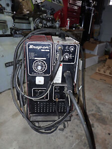 Snap on Mig Welder Mm140sl With Spool Gun Attachment