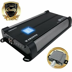 Gravity 5000 Watts Class D 1 Ohm Stable car audio Sub bass Competition Amplifier $179.99