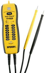 Sperry Volt Check Voltage And Continuity Tester