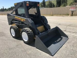 New holland Ls170 Skid Steer Loader Low Hours California Clean Loader Rust Free
