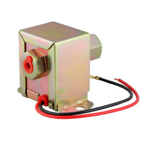 12v Low Pressure Electric Fuel Pump Universal Size For Cars Vans Truck 2 4 Psi