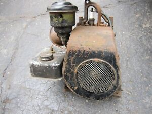 Briggs Stratton Wi Engine Kick Start Vintage Scooter Mower Stationary Engine