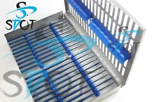 Rhoton Micro Dissector Expanded 20 Pcs Set Bule Steel Case Sdot