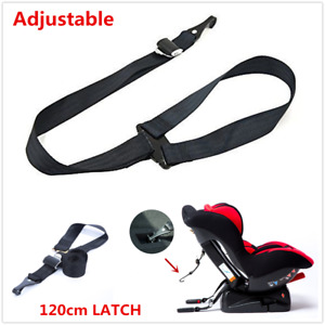 Universal 120cm Latch Car Baby Kids Safety Seat Toptether Fixed Connector Strap