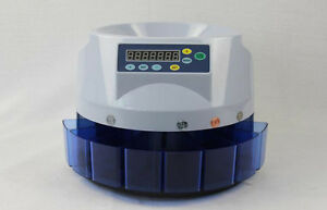 Electronic Automatic Coin Count Sort Machine Coin Counter Sortor 110v