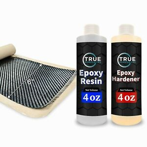 real 2x2 Twill 3k 5 7 Oz Carbon Fiber Epoxy Resin Kit 2x2 Twill 36 X 6