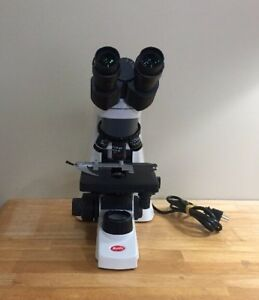 Motic Ba210 Led Laboratory Microscope Slightly Used Demo Unit