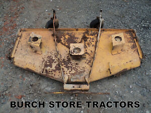 Belly Finishing Mower Deck For Farmall Cub Tractors
