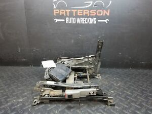 2002 Olds Bravada Passenger Right Front Power Bucket Seat Track Only Heated Worn