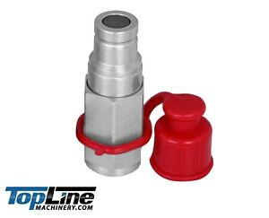 Tl41 m 3 8 Npt Thread 3 8 Body Flat Face Male Hydraulic Quick Connect Coupler