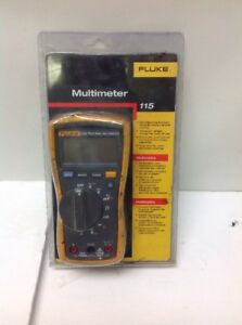 Fluke 115 Compact True Rms Digital Multimeter