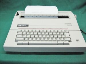 Smith Corona 250 Del Portable Electric Typewriter Guaranteed Fully Tested
