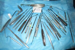 Storz Pilling V Mueller Sklar Huge Lot Of 32 Pieces Ent Surgical