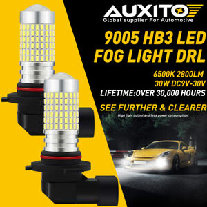9005 Led High Beam Daytime Running Light Kit For Acura Ilx Tsx Mdx Tl Rl Honda F