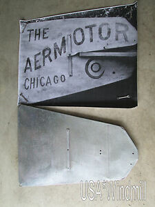 Chicago Aermotor Windmill Vane For 6ft X702 X602 W Logo Layout X31 Layout