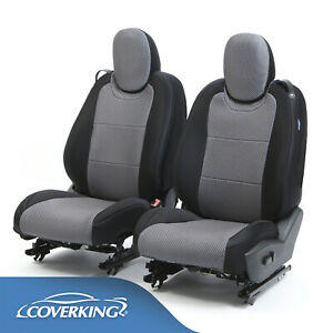 Coverking Carbon Fiber Neosupreme Front Rear Seat Covers For Toyota Tacoma