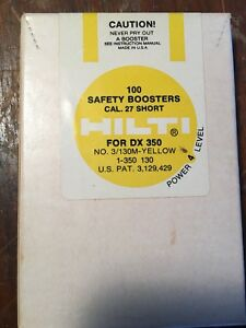Hilti 1500 Safety Boosters Power 4 27 Cal 3 130m Yellow for Dx350