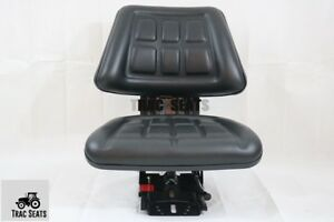 Massey Ferguson Universal Farm Tractor Trac Brand Suspension Seat Waffle Style