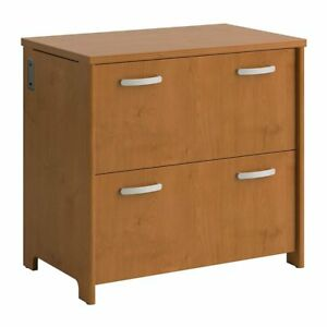 Bush Furniture Envoy 32w 2 Drawer Lateral File Cabinet In Cherry