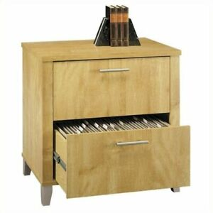 Scranton Co 2 Drawer Lateral File Cabinet In Maple