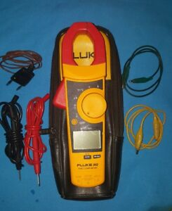 Fluke 902 True Rms Hvac Clamp Meter In Excellent Condition free Shipping